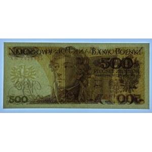 500 złotych 1974 - seria AN