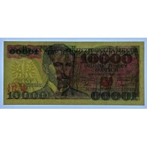 10.000 złotych 1987 - seria R i B SET 3 szt.