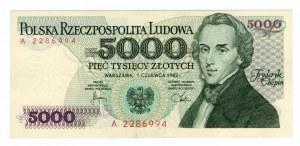 5000 złotych 1982 - seria A
