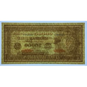 50.000 marek polskich 1922 - seria T