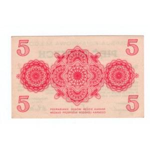 Komisja Finansowa Miasta Łodzi, 5 złotych 1939 ID