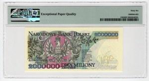 2.000.000 złotych 1992 - PMG 66 EPQ