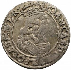 Jan II Kazimierz (1648-1668) - Szóstak 1664 - zdwojona data