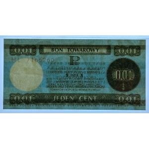 PEWEX - 1 cent 1979 - seria HL - PMG 66 EPQ