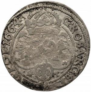Jan II Kazimierz (1648-1668) - Szóstak 1664