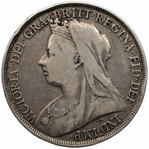 WIELKA BRYTANIA - Królowa Wiktoria (1838-1901) 1 korona 1895