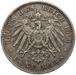 NIEMCY - Bawaria - Otto - 5 marek 1904 (D) Monachium