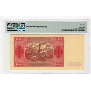 100 złotych 1948 - HC - PMG 65 EPQ