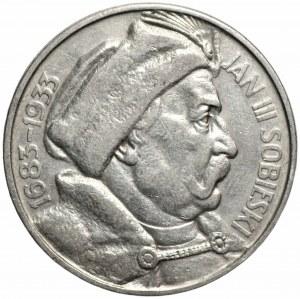 II RP - 10 złotych 1933 - Jan III Sobieski