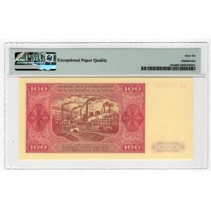 100 złotych 1948 - seria KR - PMG 66 EPQ