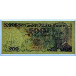 200 złotych 1976 - l - PMG 66 EPQ