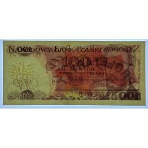100 złotych 1976 - AM - PMG 65 EPQ