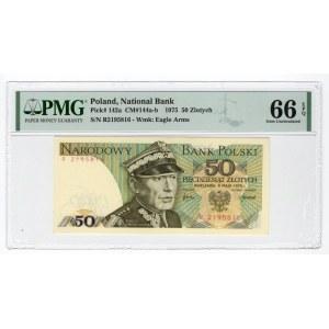 50 złotych 1975 - R - PMG 66 EPQ