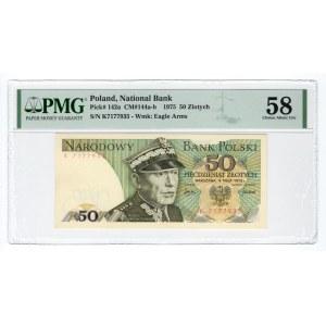 50 złotych 1975 - K - PMG 58