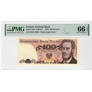 100 złotych 1976 - seria FB - PMG 66 EPQ
