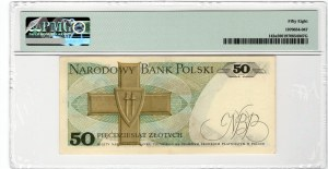 50 złotych 1975 - Z - PMG 58