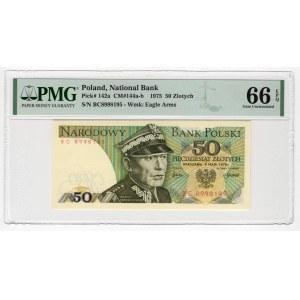 50 złotych 1975 - BC - PMG 66 EPQ