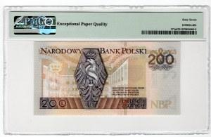 200 złotych 1994 - seria zastępcza YC - PMG 67 EPQ
