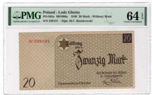 Getto w Łodzi - 20 marek 1940 - PMG 64 EPQ