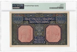 1000 marek polskich 1916 - Generał - PMG 55 EPQ - Wyśmienity z EPQ