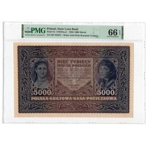 1.000 marek 1919 - III Serja H - PMG 66 EPQ
