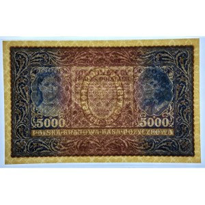5.000 marek 1920 - III Serja D - PMG 64 EPQ