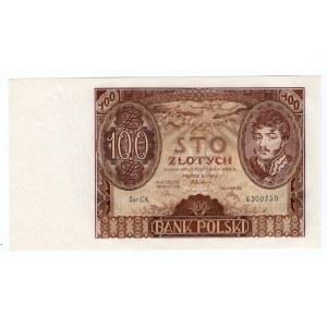 100 złotych 1934 - seria C.K.