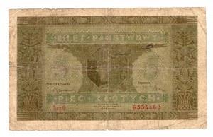 5 złotych 1926 - seria G