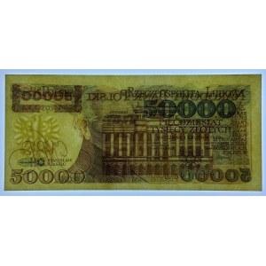 50 000 złotych 1989 - seria B