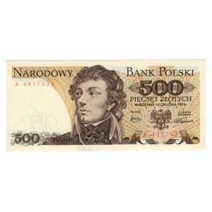 500 złotych 1974 - seria A