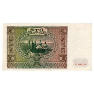 100 złotych 1941 - seria D