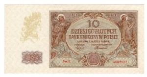 10 złotych 1940 - seria L.