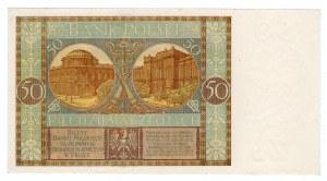 50 złotych 1929 - seria EY.