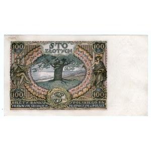 100 złotych 1934 - seria BM
