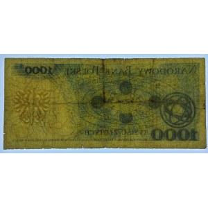 DESTRUKT 1.000 złotych 1979 - seria CS