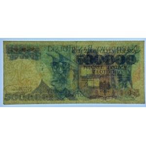 FALSYFIKAT 500.000 złotych 1990 - seria Z