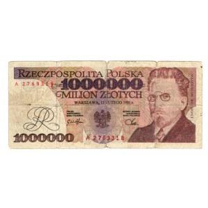 FALSYFIKAT 1.000.000 złotych 1991 - seria A
