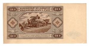 10 złotych 1948 -seria K