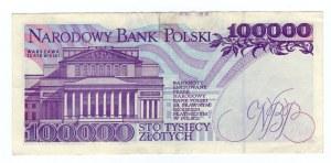 100.000 złotych 1993 - seria D