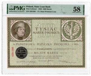 1.000 marek polskich 1920 - PMG 58