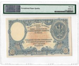 100 złotych 1919 - seria S.B. - PMG 58 EPQ