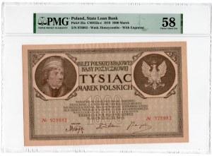 1.000 marek polskich 1919 - PMG 58