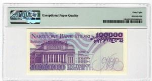 100.000 złotych 1993 - seria AE - PMG 68 EPQ