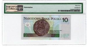 10 złotych 1994 - seria YD zastępcza - PMG 64 podpis Andrzej Heidrich druk PWPW