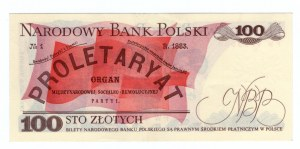 100 złotych 1979 - seria FW