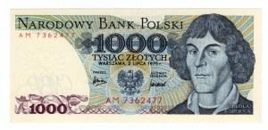 1.000 złotych 1975 - seria AM