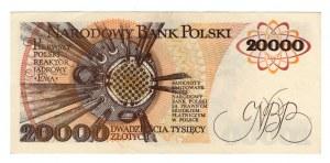 20.000 złotych 1989 - seria S