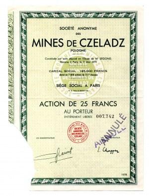 S.A. Kopalni Czeladź - Akcja na 25 franków