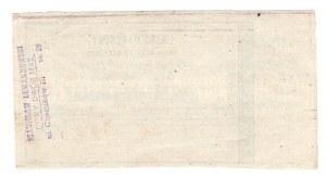 Rząd Narodowy, Obligacja tymczasowa 1.000 złotych 1863-64
