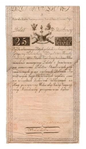 25 złotych 1794 - seria B
